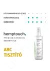 Hemptouch tisztító arclemosó minden bőrtípusra (kender hidrolátummal)