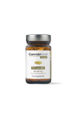 CannabiGold Smart kannabisz olaj kapszula (30 x 10 mg CBD)