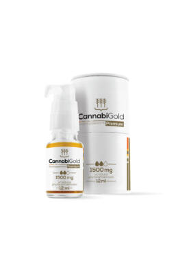 CannabiGold Prémium 1500 mg (12 ml)