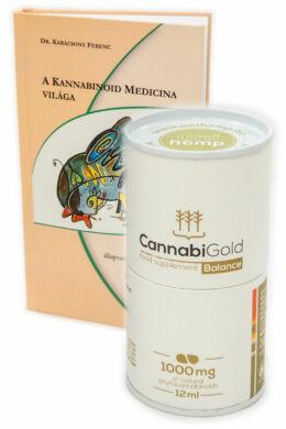 CannabiGold Balance 1000 mg (közeli lejárat) + ajándék könyv!