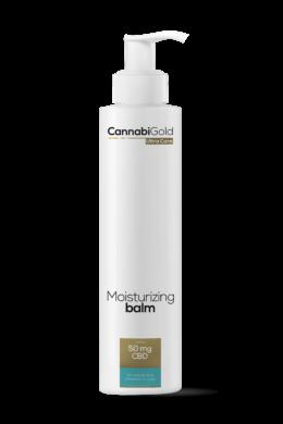 CannabiGold – Hidratáló Balzsam – száraz, érzékeny, atópiás bőrre (200 ml // 50 mg CBD)