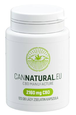 60 db kapszula (1080 mg CBD) – Cannatural
