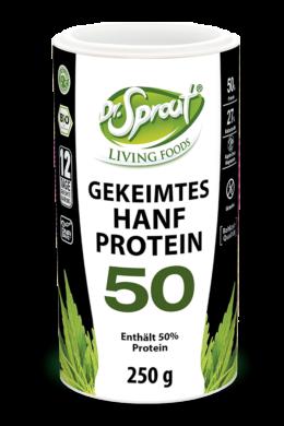 Dr. Sprout Csíráztatott kender protein 50% (250 g)