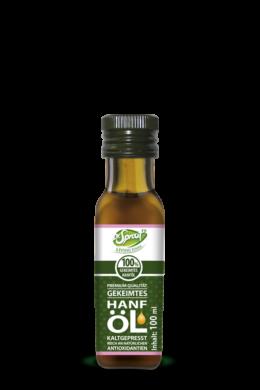 Living Foods – Csíráztatott kendermagolaj (250 ml)