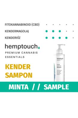 GYENGÉD HIDROLÁTUM SAMPON / Gentle Hydrolate Shampoo (MINTA)