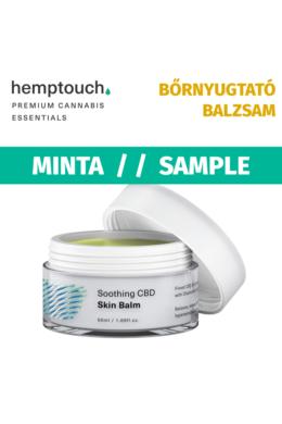 NYUGTATÓ CBD BŐRBALZSAM / Soothing CBD skin Balm (MINTA)