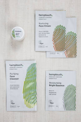 Hemptouch mintacsomag száraz és érzékeny bőrre