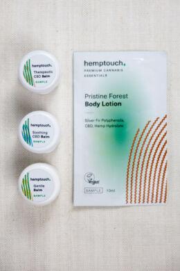 Hemptouch testápoló - balzsam mintacsomag