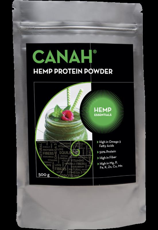 kenderprotein termékcsomagolás Canah 300 gramm