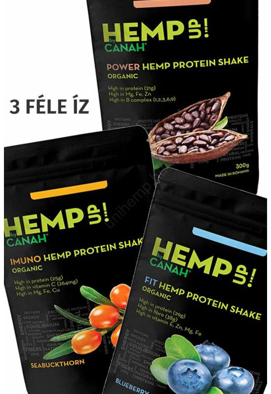 Canah protein shake (3 féle íz)