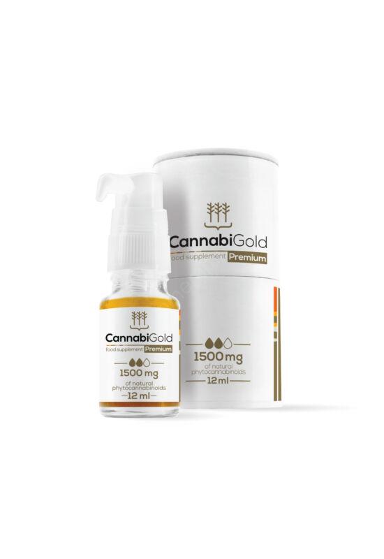 CannabiGold Prémium 1500 mg (12 ml)