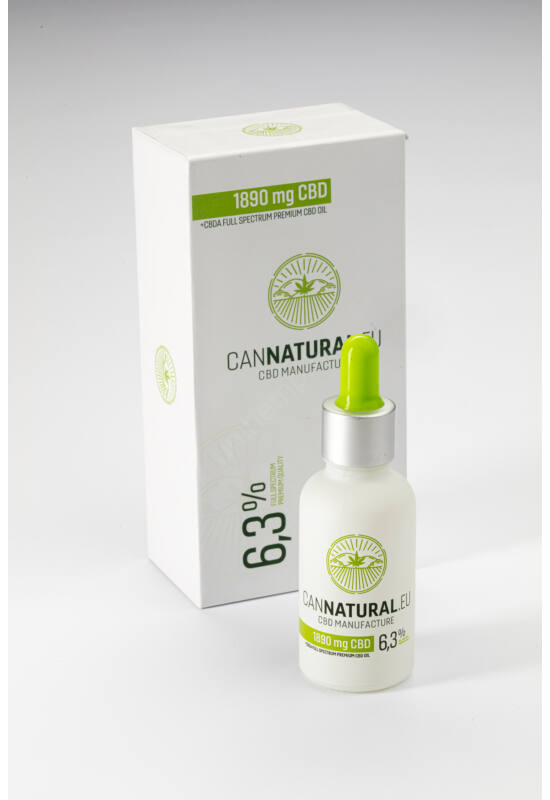Cannatural – full spektrum CBD olaj