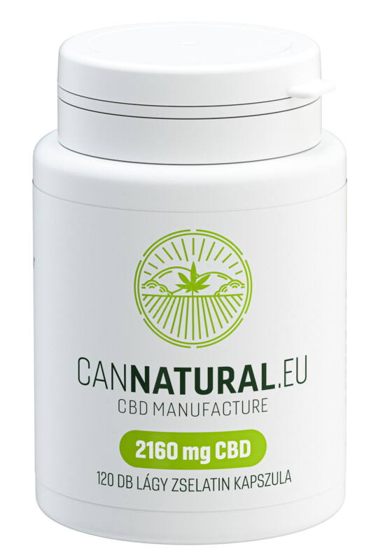 Cannatural – full spektrum CBD kapszula