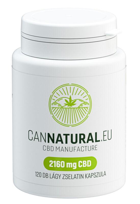 120 db kapszula (2160 mg CBD) – Cannatural