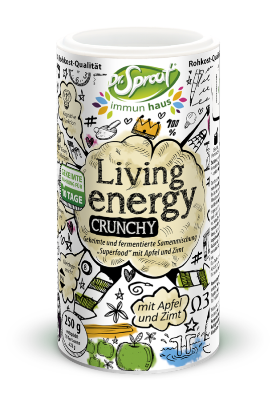 Dr. Sprout Living Energy – Crunchy (250 g)