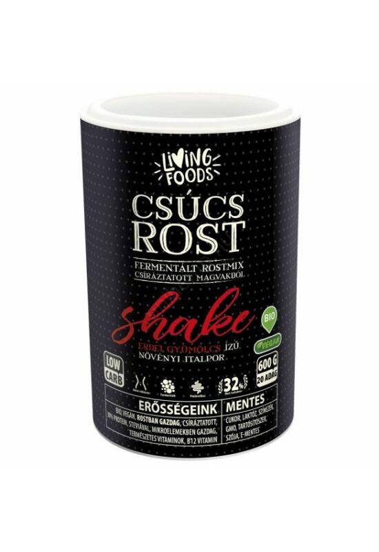 Living Foods – Csúcs Rost Shake (600 g)