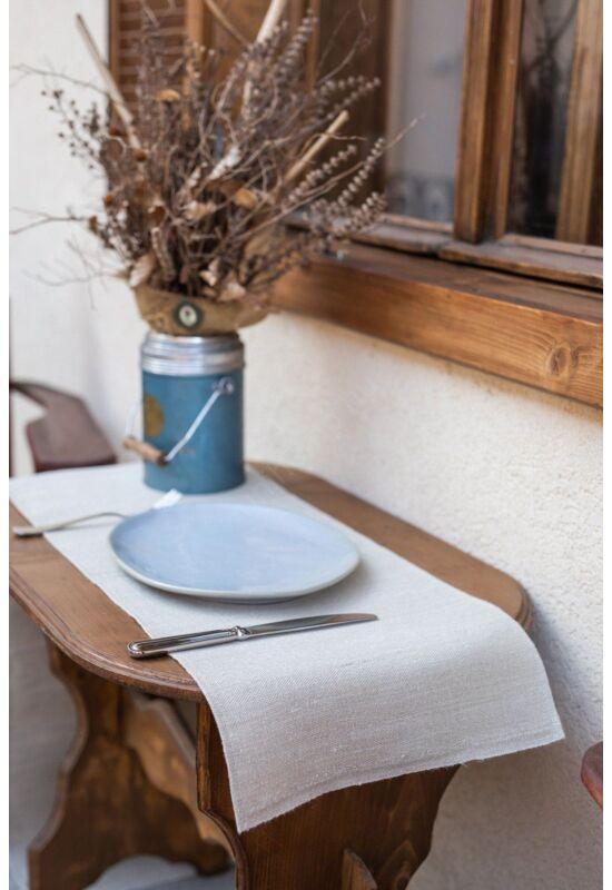 Asztali futó terítő – 100% kender