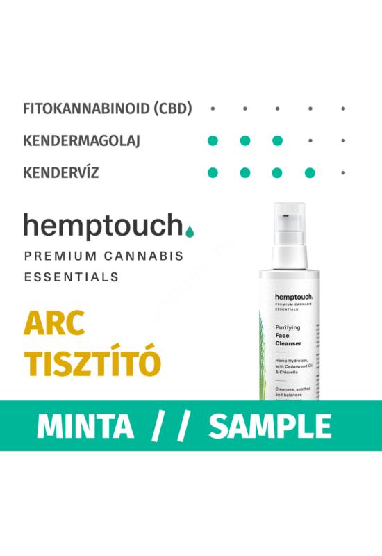 hemptouch tisztító arclemosó minta
