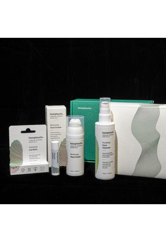 Hemptouch arcápoló ajándékcsomag száraz bőrre
