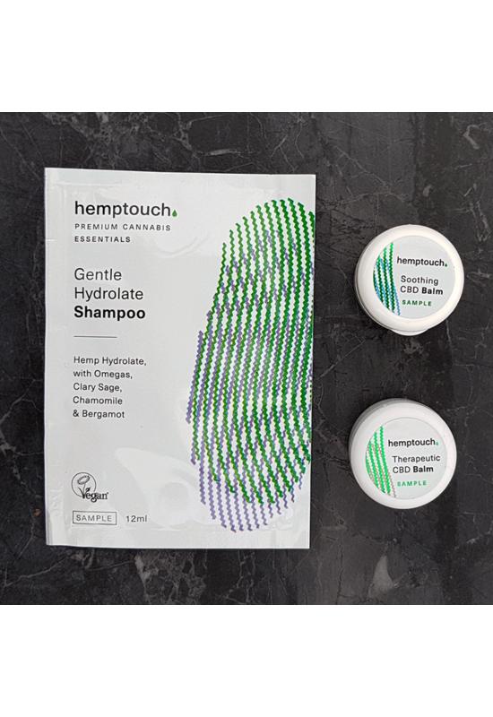 Hemptouch mintacsomag problémás bőrre