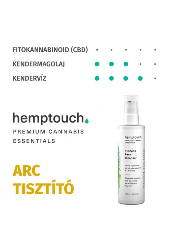 hemptouch tisztító arclemosó